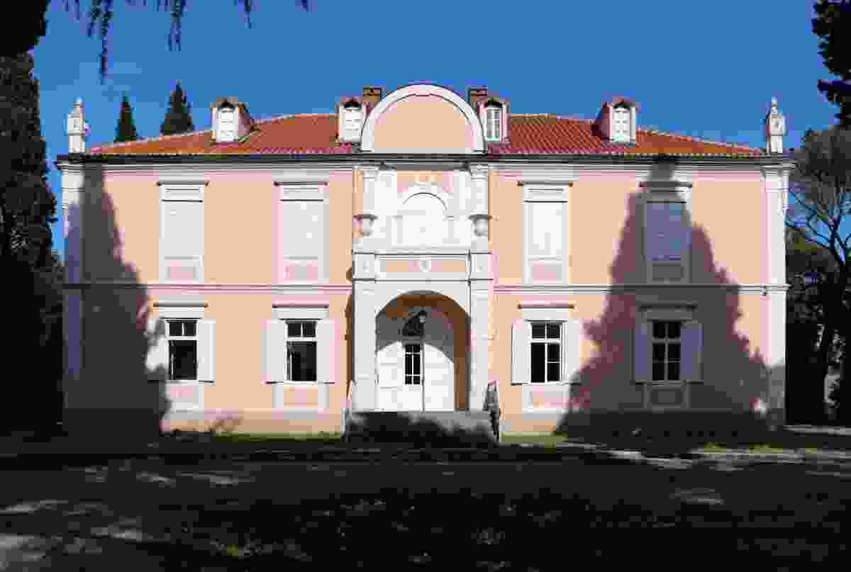 Podgorica's Petrovic Palace (Wikimedia Commons/Sailko)