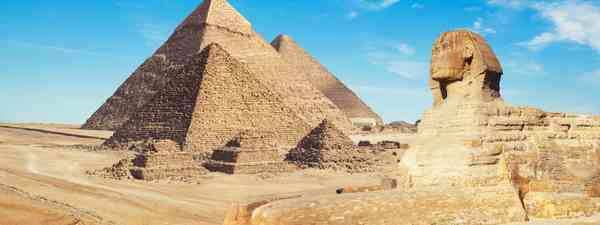 The Pyramids (Shutterstock)