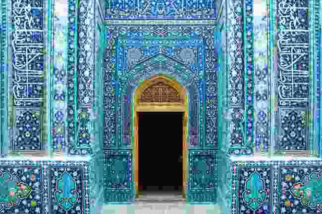 The entrance to Shah-i Zinda, Samarkand (Shutterstock)