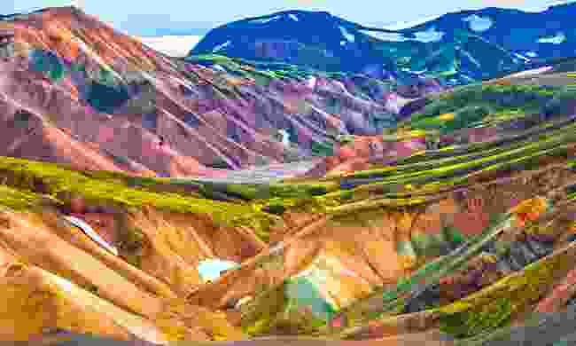The surreal, colourful landscapes of Landmannalaugar (Shutterstock)