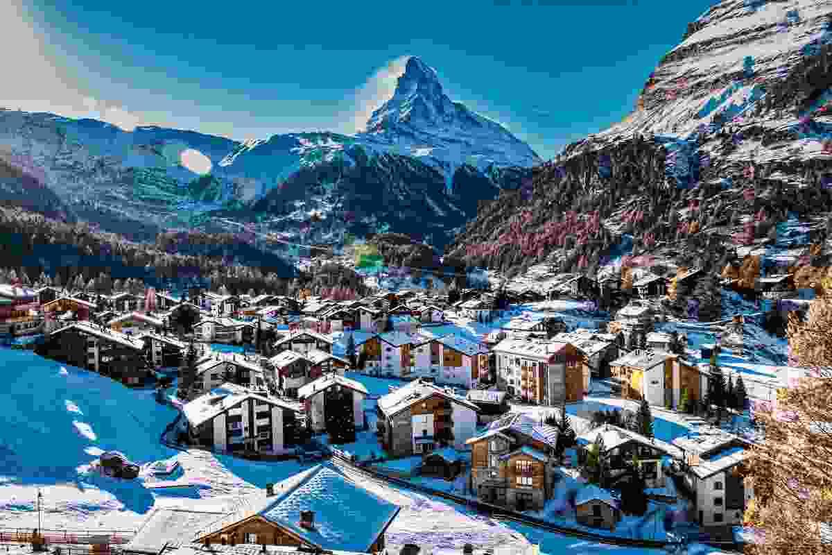 Zermatt, Switzerland (Shutterstock)