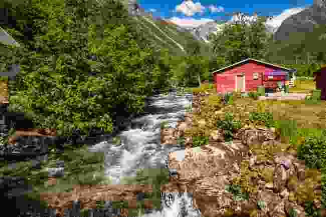 A cabin in Alesund, Norway  (Shutterstock)