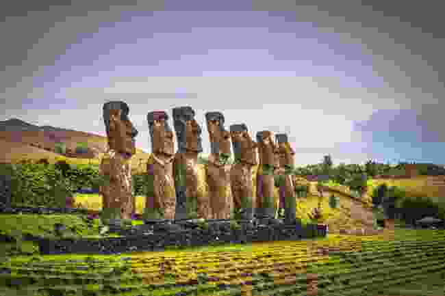 Ahu Akivi, Easter Island (Shutterstock)