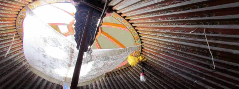 A traditional yurt from Mongolia (David Berkowitz)