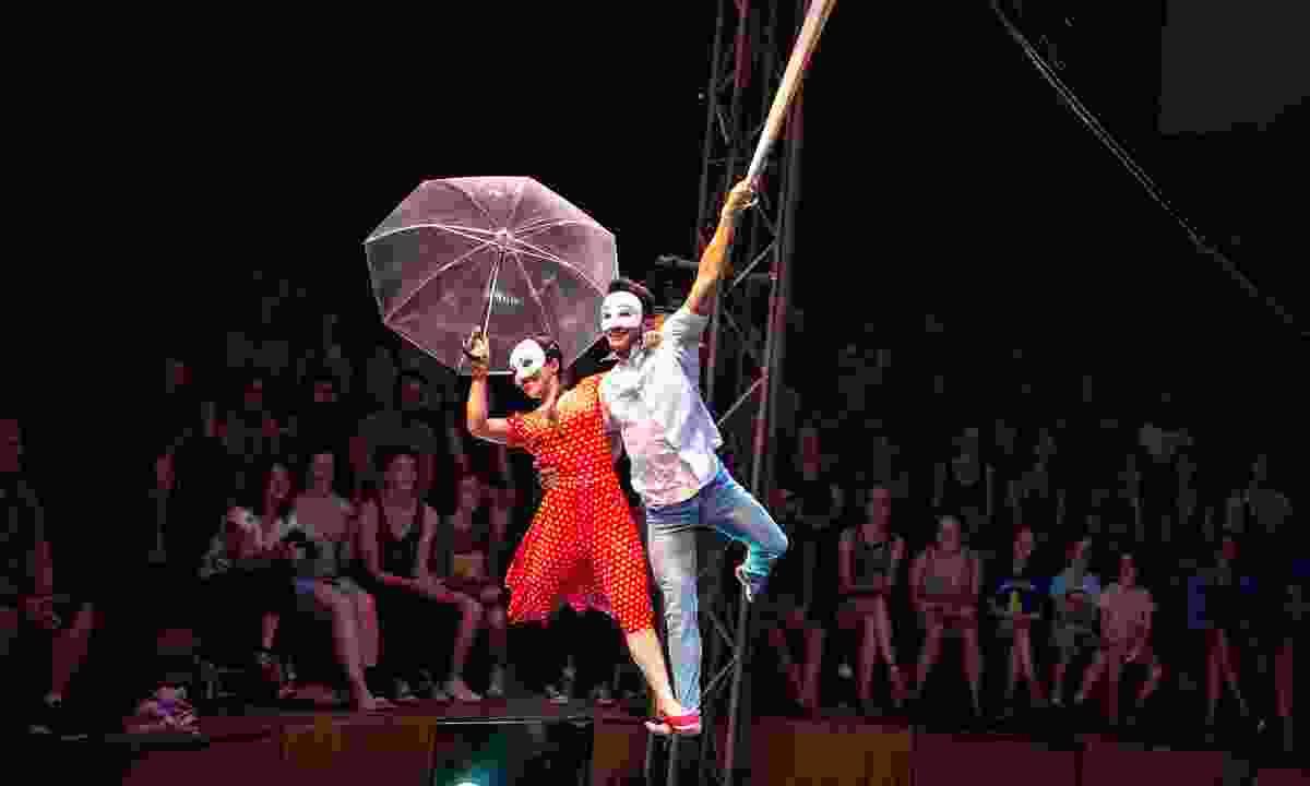Visit the Phare Circus (Diallo Jamal)