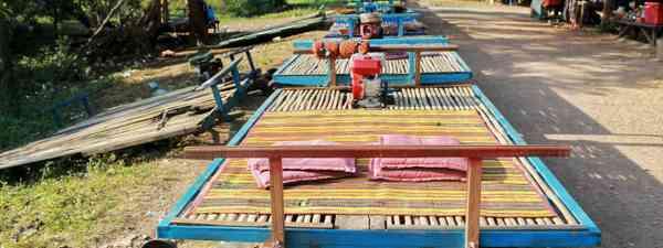 Cambodia's Bamboo Railway (Shutterstock)
