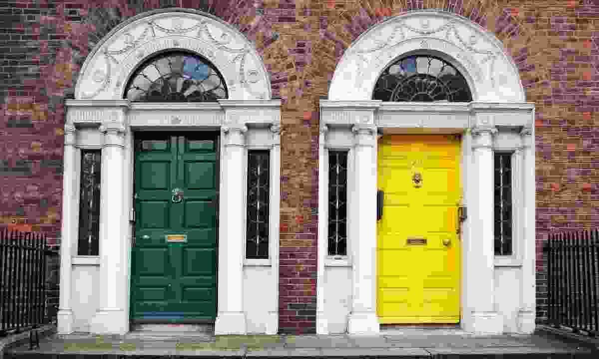Georgian doors win Dublin (Dreamstime)
