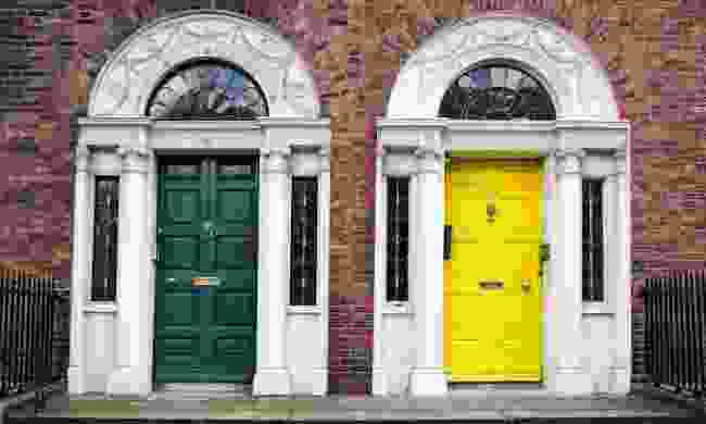 Georgian doors win Dublin (Dreamstime)