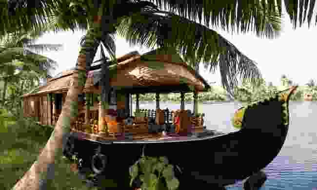 A houseboat on Kerala backwaters (Dreamstime)