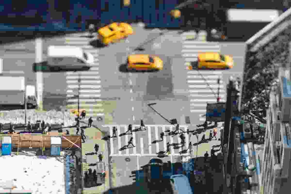 New York cabs (Jasper Léonard)
