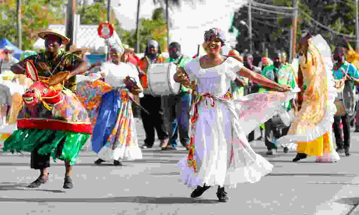 Revellers at the Holetown Festival (visitbarbados.org)