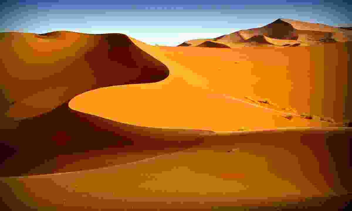 The dunes of Erg Chebbi (Shutterstock)
