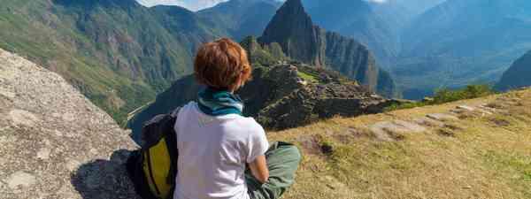 Gazing out across Machu Picchu (Shutterstock)