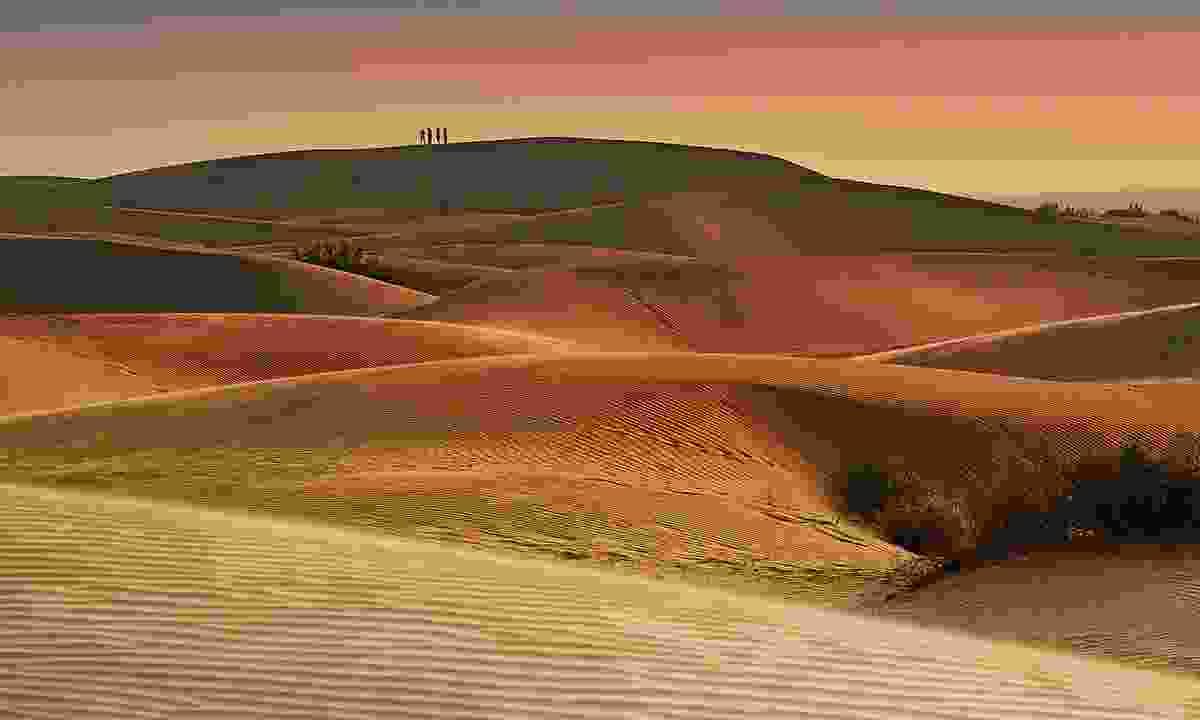 Sunset over Thar Desert (Shutterstock)
