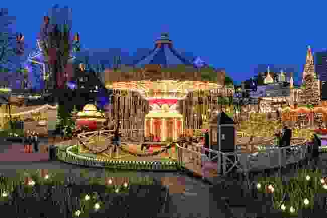 Tivoli fairground (Dreamstime)