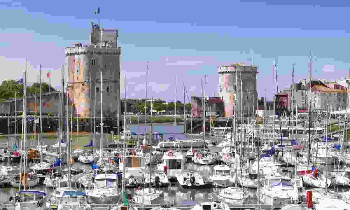 Boats harbour in La Rochelle (Dreamstime)