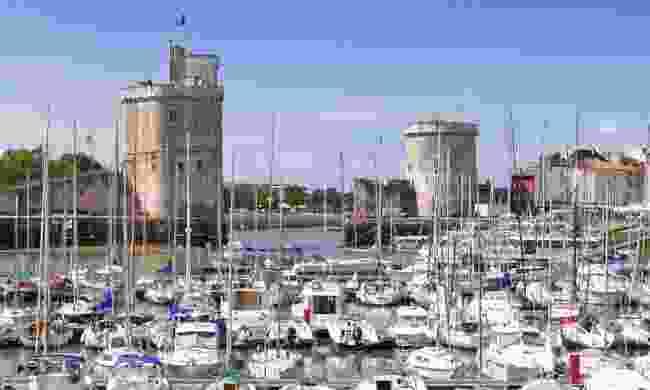 Boats harbour in La Rochelle (Dreamstime)