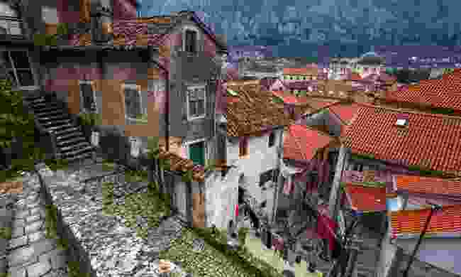The atmospheric old town (Dreamstime)