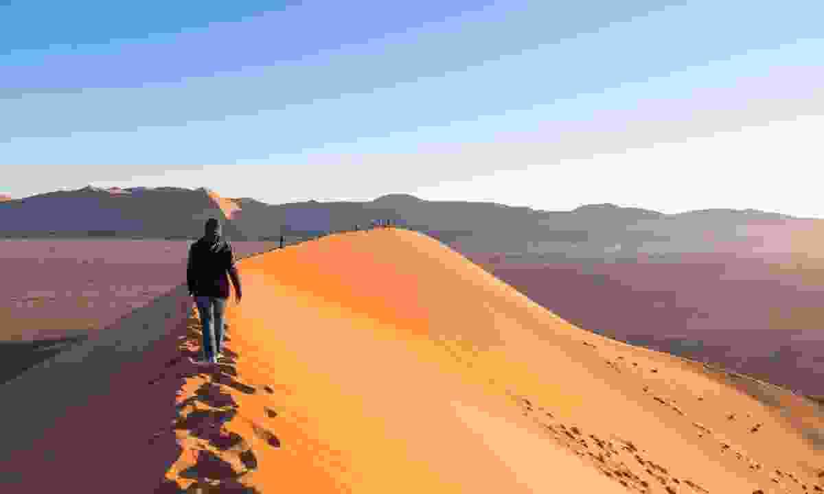 Travel somewhere truly off the grid like the Namib Desert (Dreamstime)