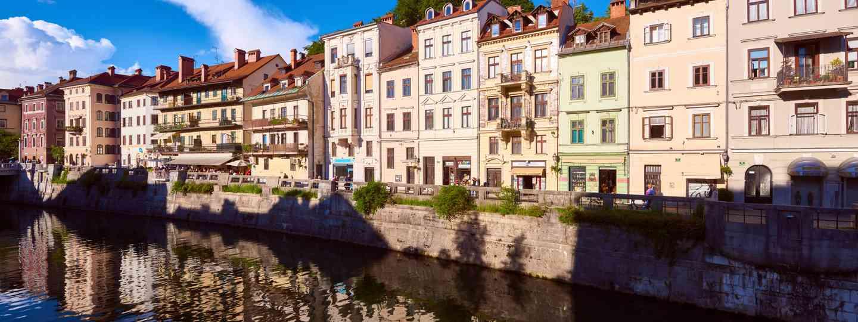Ljubljana river (Slovenian Tourist Board)