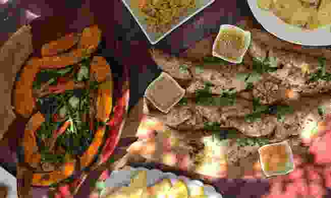 The food at Backyard Café (Simon Chubb)