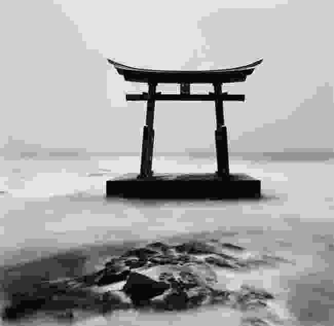 Torii Gate, Study 2, Shosanbetsu, Hokkaido, Japan (Michael Kenna)