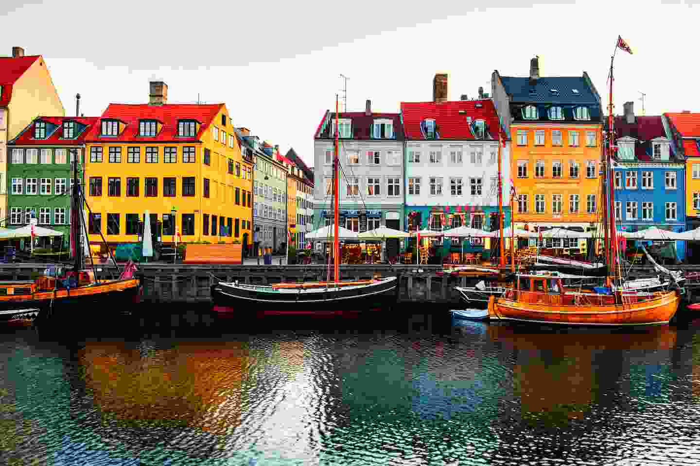 Multi-coloured Nyhavn is Copenhagen's most iconic image (Shutterstock)