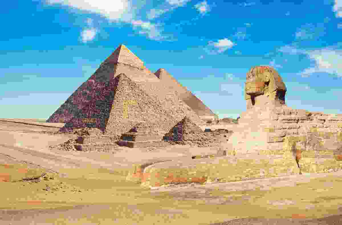 The Pyramids - definitely already discovered (Shutterstock)