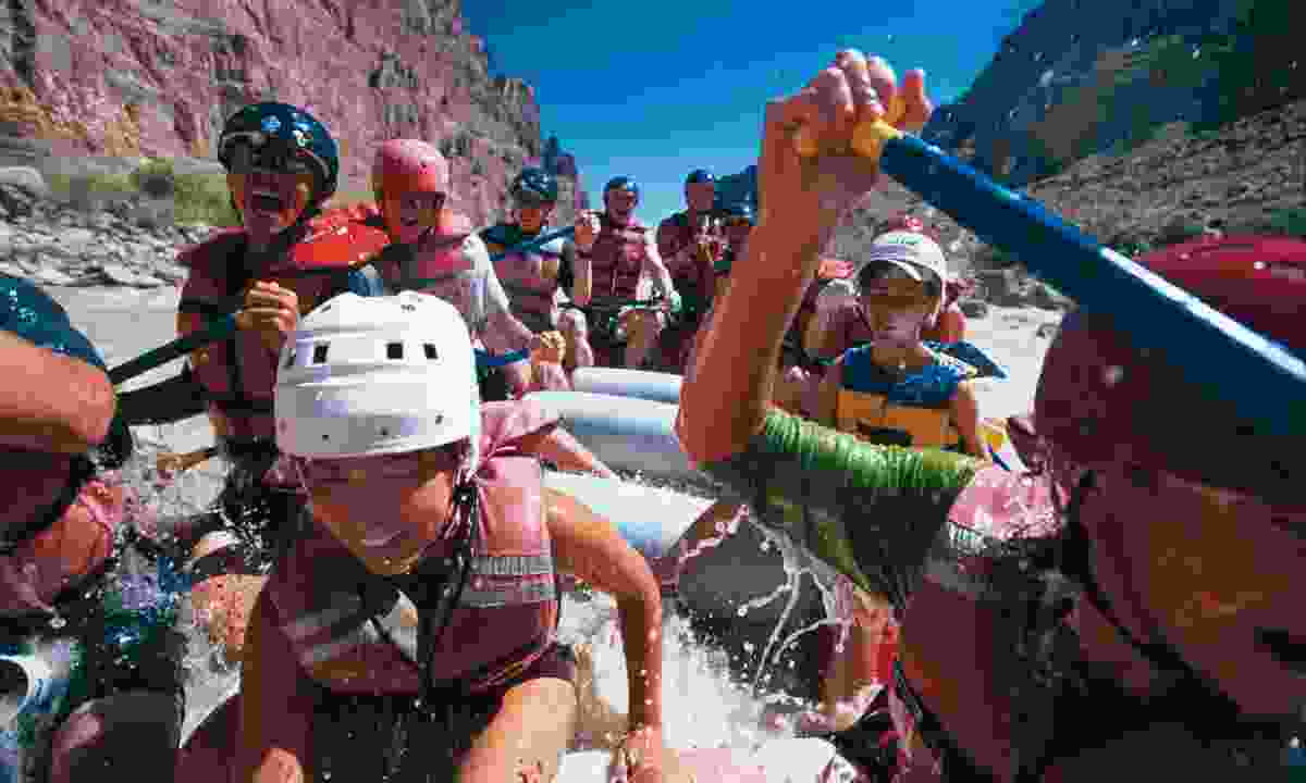 Rafting in Moab
