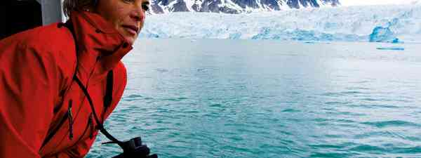 Sara Wheeler on her polar expedition (Amit Lennon)