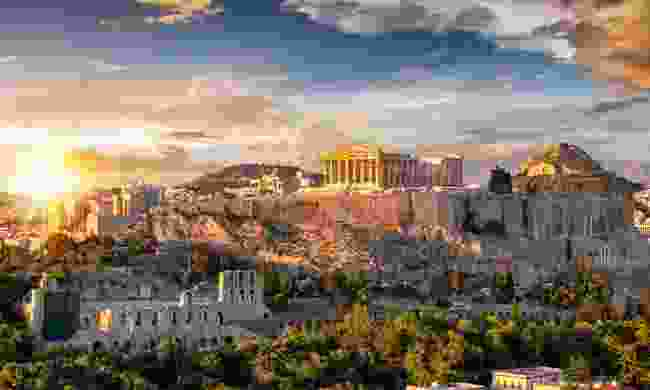The Acropolis citadel looms large over Athens (Shutterstock)