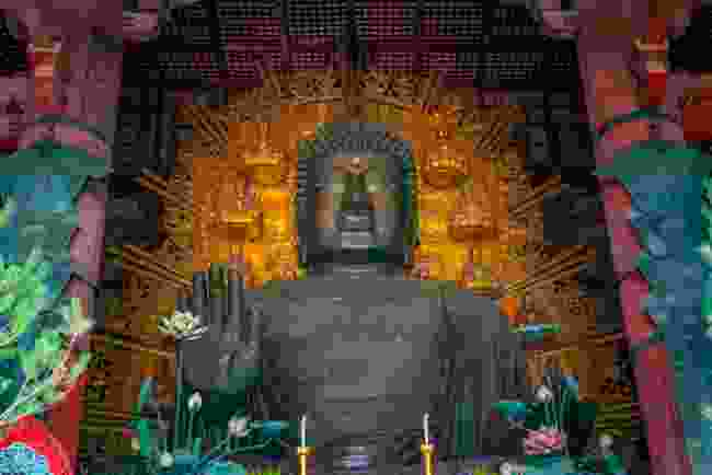 The Great Buddha in Tōdai-ji Temple (Shutterstock)