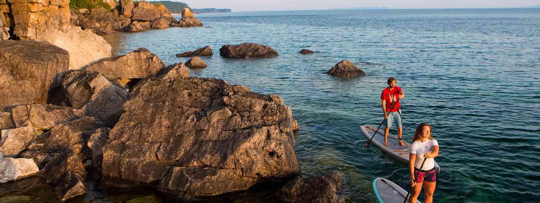 Paddleboarding (Shutterstock)