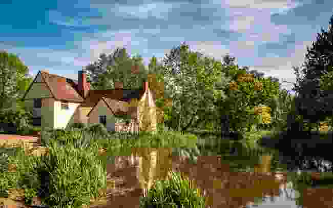 Flatford Mill inspired Constable's paintings (Shutterstock)