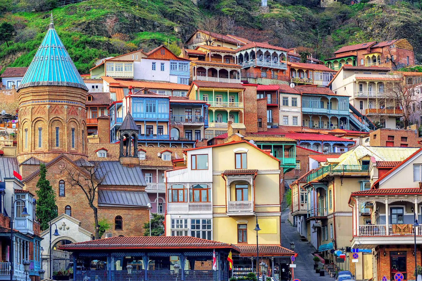 Tbilisi's quirky Old Town (Shutterstock)