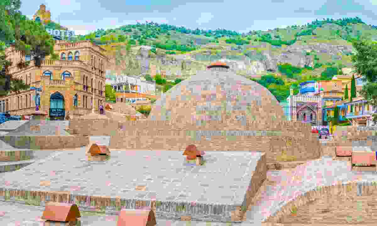 Sulphur baths in Tbilisi (Dreamstime)
