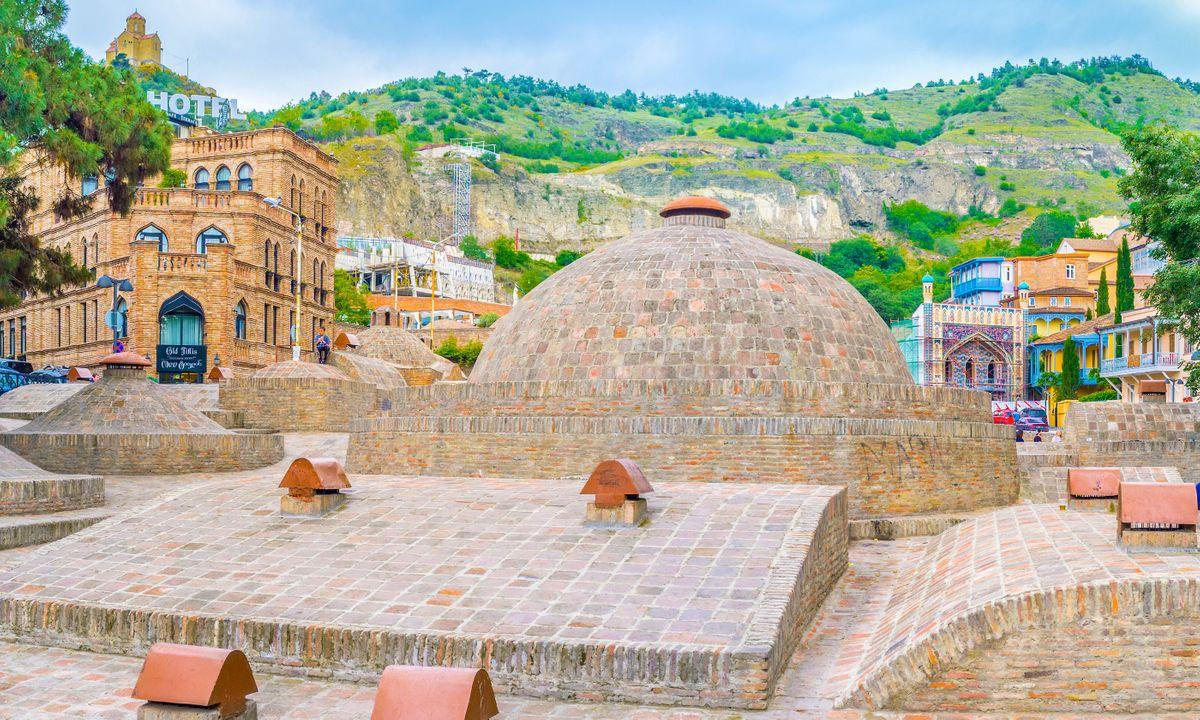 Sulphur baths in Tbilisi (Dreamstime)