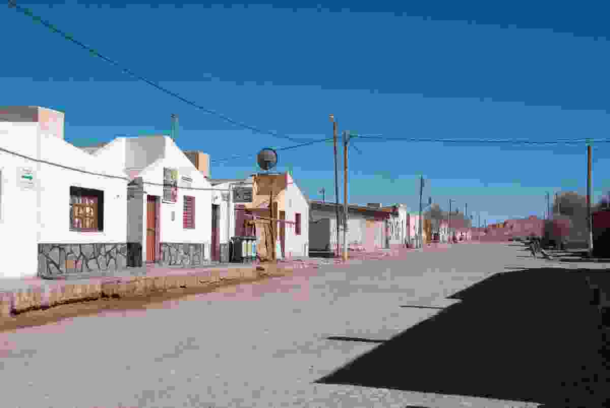 With its seemingly deserted streets Tolar Grande feels like The Town at the End of the Universe (Lyn Hughes)