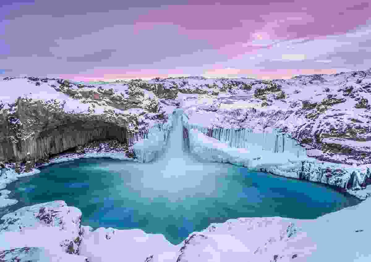 Aldeyjarfoss, Northern Highlands, Iceland (Markus van Hauten)