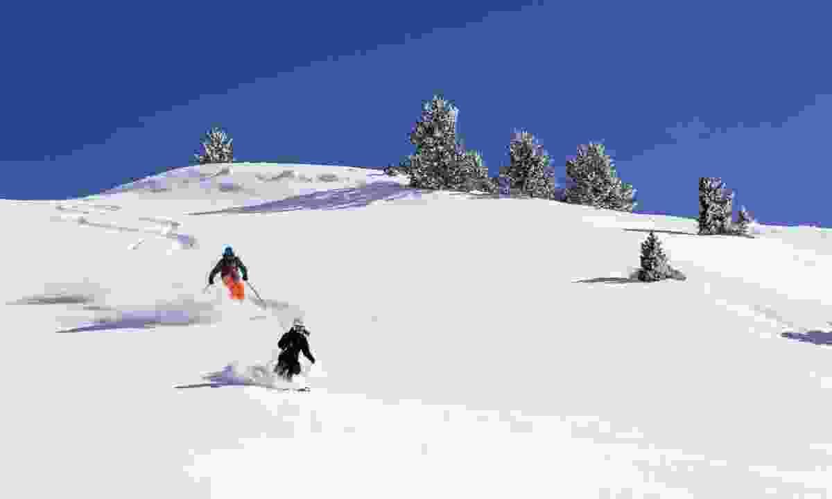 Skiing in Baqueira Beret (Davide Camesasca)