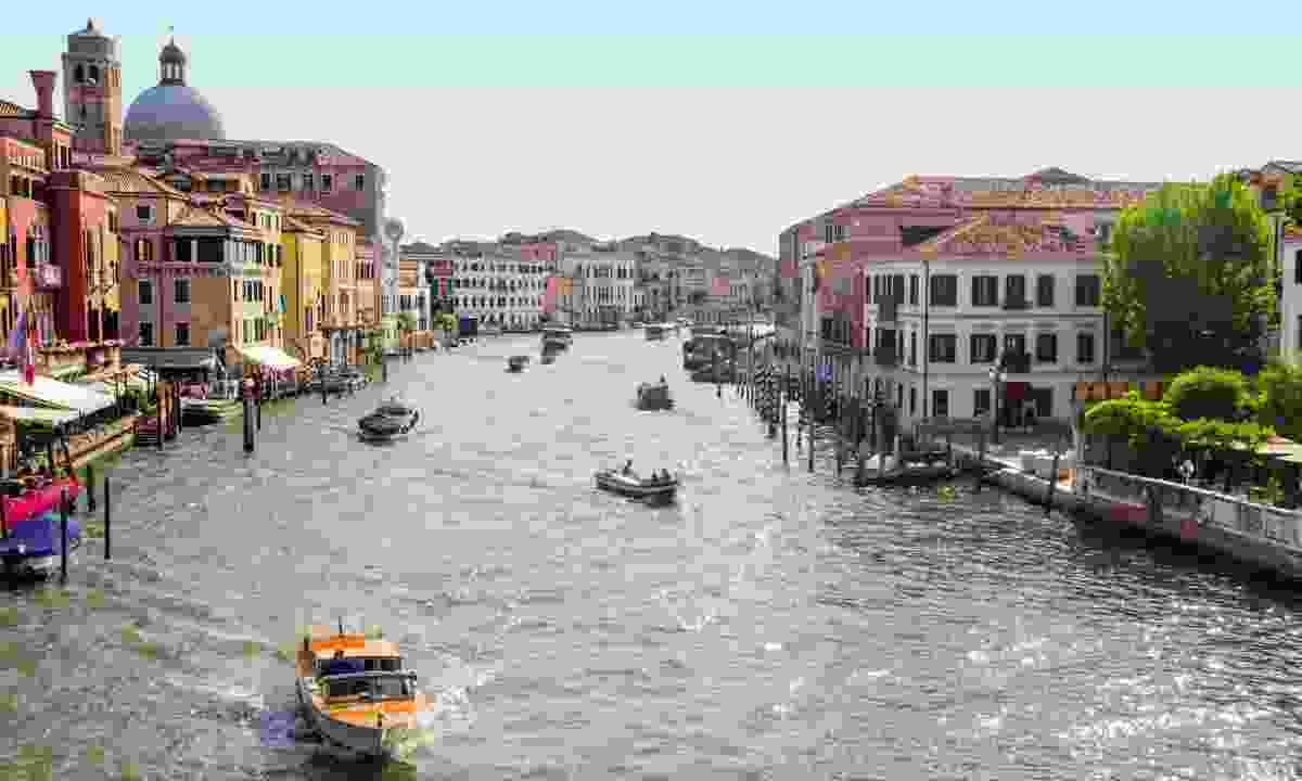 View of the Grand Canal from Santa Lucia station (Phoebe Smith)