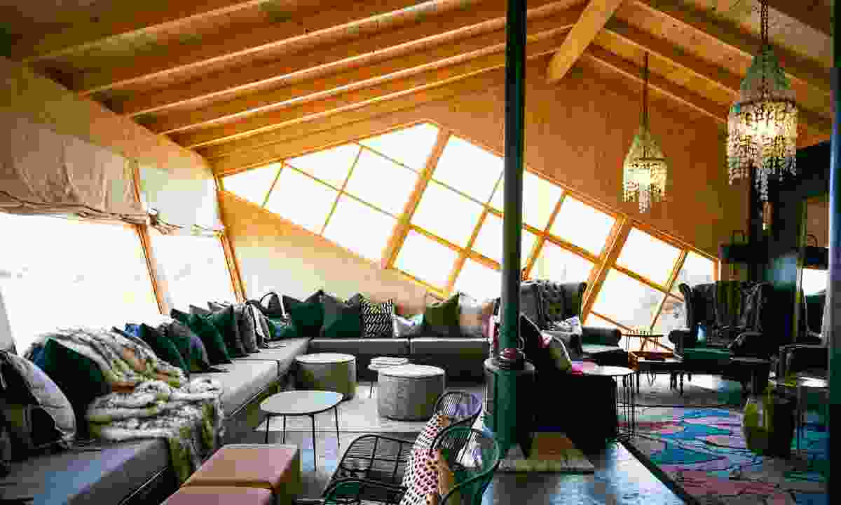 The interior of Shipwreck Lodge (Micheal Turek)