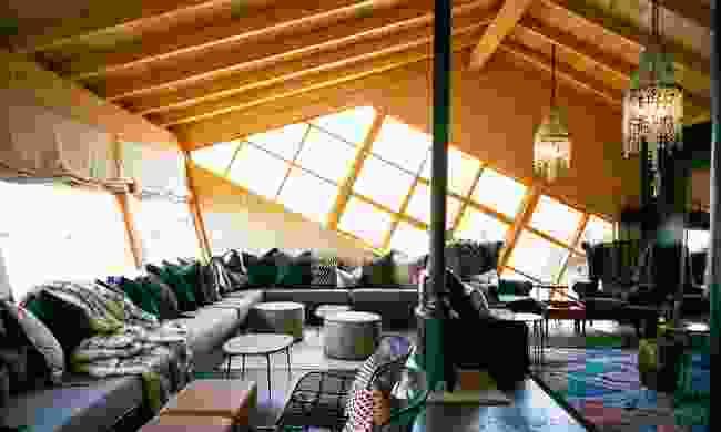The interior of Shipwreck Lodge (Micheal Turek)