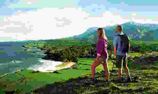 Asturian coastal landscape (Arrontes and Barrera)