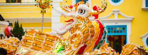 Macao Dragon Dance (Macao Government Tourism Office)