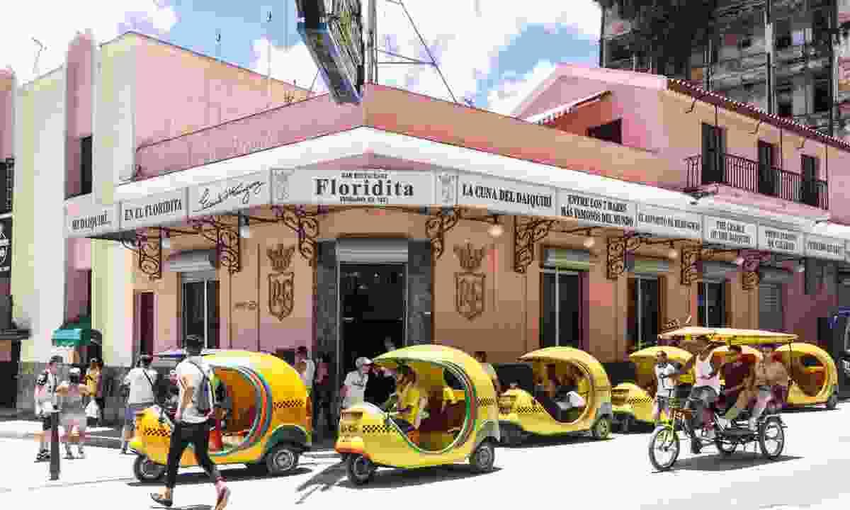Coco Taxi, Havana (Dreamstime)