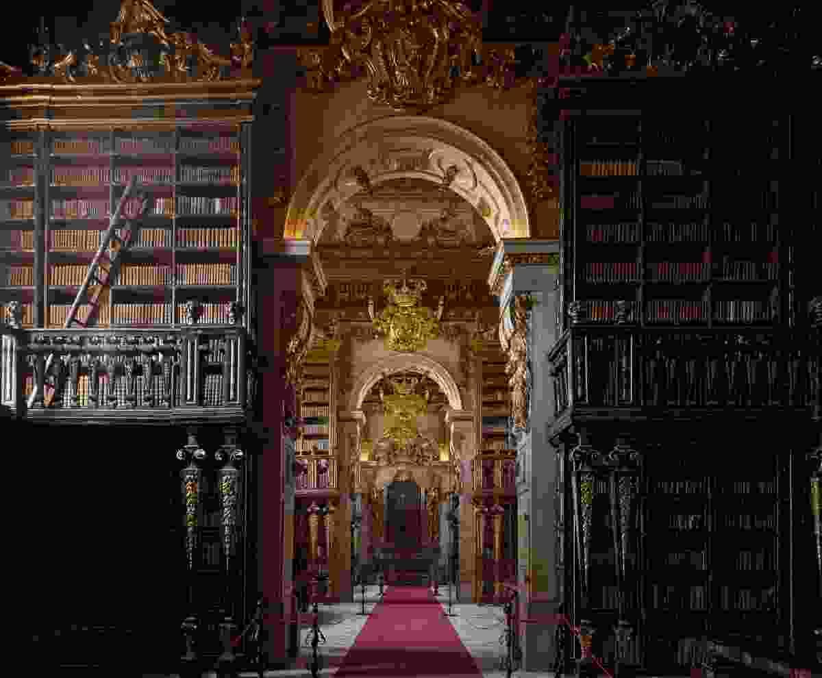 Biblioteca Joanina, Coimbria (Massimo Listri/TASCHEN)