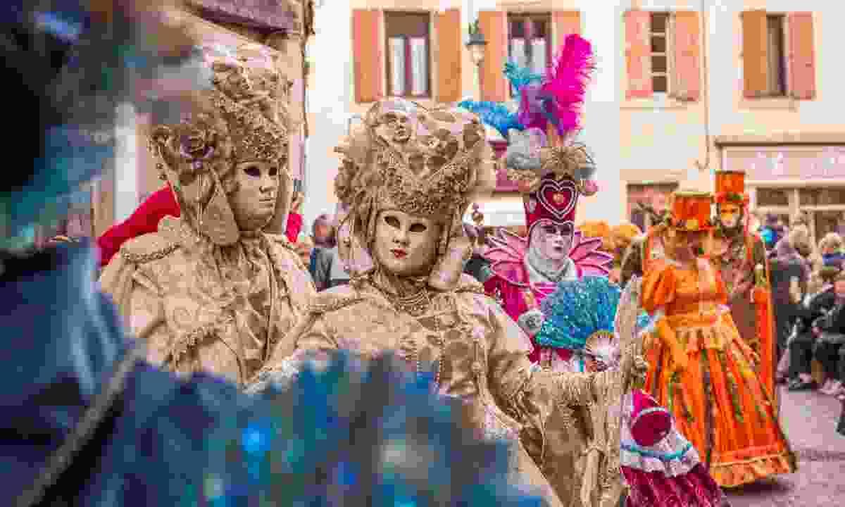 Carnival revellers in Castre (Pascale Walter/CDT du Tarn)