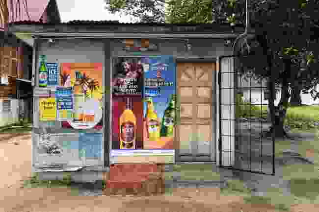 Bottle shop on La Digue (Peter Moore)