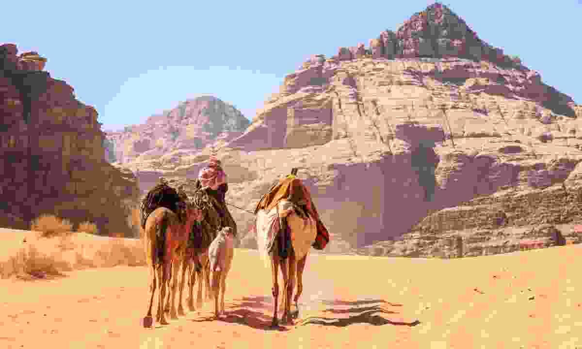 'Traffic' in Wadi Rum (Shutterstock)